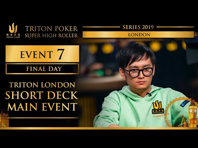 Triton London 2019 - Triton London SD Main Event £100K - Day 3
