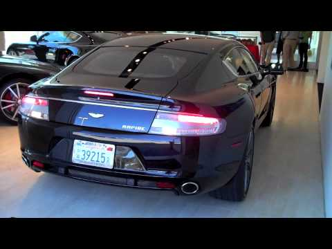 Aston Martin Marin Rapide Introduction Auto Club Rally YouTube - Aston martin marin