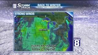 StormTrack 8 Morning Forecast February 8, 2016
