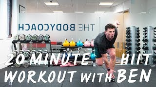 20 Minute Home HIIT Workout with Ben Davie | The Body Coach