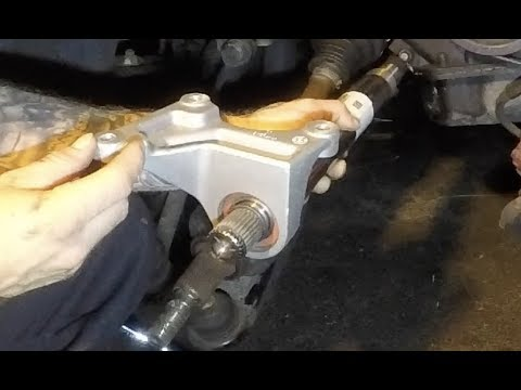 How To Intermediate Shaft Removal And Install Dodge