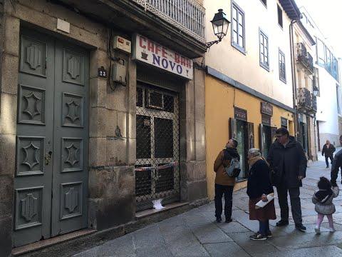 El bar Novo, precintado después de la muerte de su gerente con heridas de arma blanca