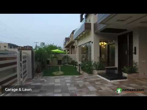 BRAND NEW FACING PARK HOME THEATER BUNGALOW FOR SALE IN DHA