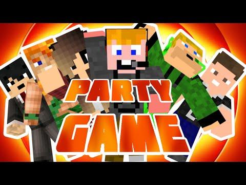 Minecraft - Party game [MEKKORA PARTY!]
