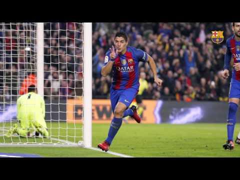 FC Barcelona - Real Madrid (1-1): Luis Suárez's goal