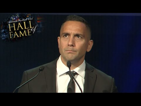 Andrew McLeod HOF Speech