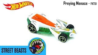 Hot Wheels 2018 - Preying Menace - Street Beasts 5 Pack FKT51 Video Still Life Toy Review