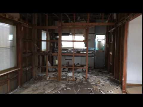 茂呂山の家既存住宅解体開始