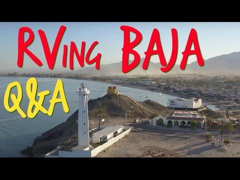 Q&A ~ RVing Baja California, Mexico