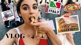 РИМ. Влог 4. САМАЯ ВКУСНАЯ ПИЦЦА, итальянская еда и как СЭКОНОМИТЬ в Риме. (2019)