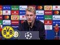 Borussia Dortmund - FC Internazionale Milano: Pressekonferenz Mit Antonio Conte