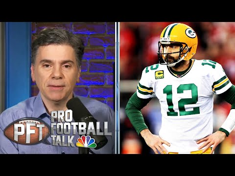 Does Packers' Matt LaFleur want Aaron Rodgers out of Green Bay?   Pro Football Talk   NBC Sports
