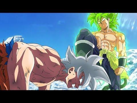 """ESPECIAL: """"Todas Las Batallas De Goku Y Broly"""" - Ultra Instinto (Fan Art) Animacion"""