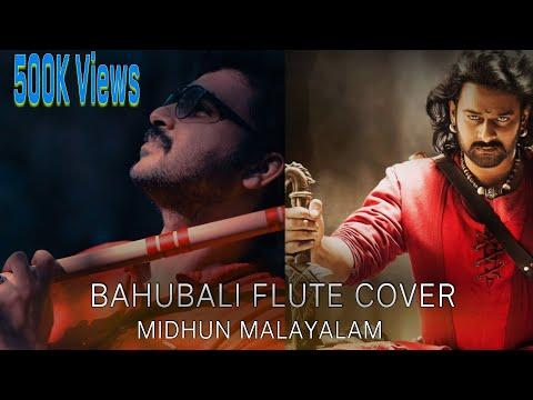 Bahubali Dandaalayya flute cover by Midhun Malayalam, Dandalayya Cover by Midhun Malayalam