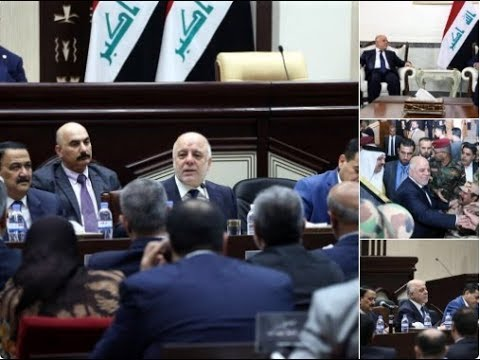 PM Abadi goes crazy over voting results and joins parliament session