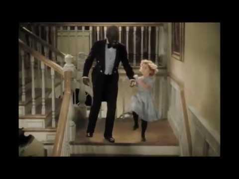 Bill 'Bojangles' Robinson & Shirley Temple tap dancing - The Little Colonel