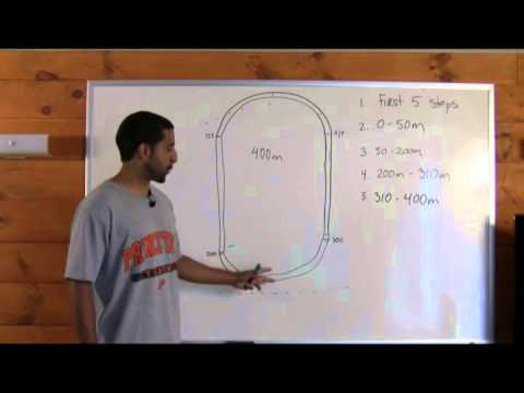How to Run the 400 Meter Race - YouTube