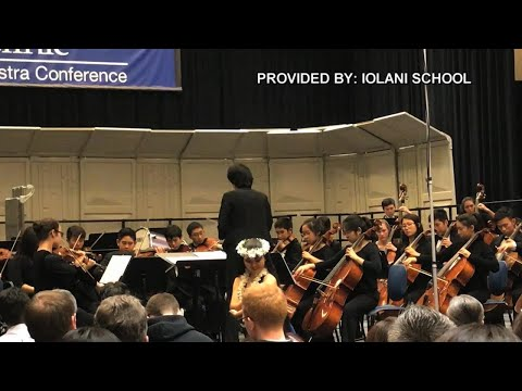 Iolani School orchestra performs in Chicago