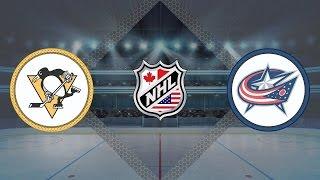 Питтсбург - Коламбус / США: НХЛ - Плей-офф / Pittsburgh - Columbus / 21.04.17