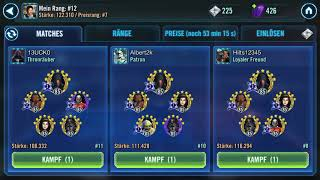 Beating 310 DR and 7 Malak with Rebels swgoh