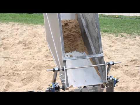 Badger Robotic Mining Team - Operation Cycle Demo