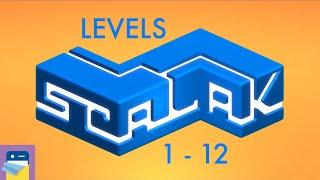 Scalak: Levels 1 2 3 4 5 6 7 8 9 10 11 12 Walkthrough Guide & iOS Gameplay (by Michal Pawlowski)