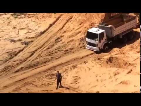 Flagrante de crime ambiental em Imbituba