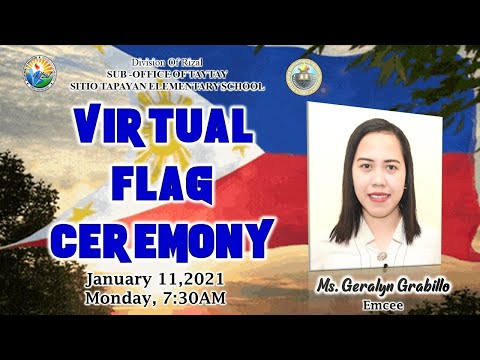 SITIO TAPAYAN ES - VIRTUAL FLAG CEREMONY (JANUARY 11,2021)