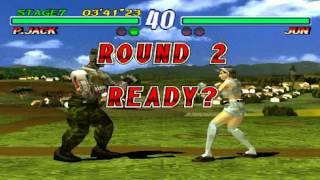 Tekken 2 - P.Jack Arcade Mode (PS1)
