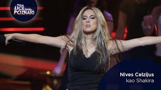 Nives Celzijus kao Shakira: Objection