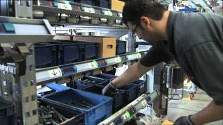 Mercedes-Benz new ACTROS 2011 trucks Engine Production Mannheim
