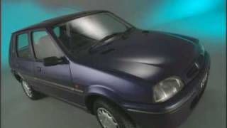 Introduction to the 1996 Rover 100 range