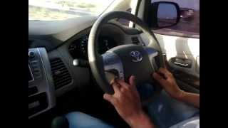 Toyota Innova VX 2012 on the way to Kutchh(Gujarat)