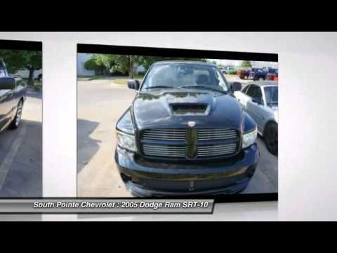 Superb 2005 Dodge Ram SRT 10 At South Pointe Chevrolet In Tulsa 5G855832