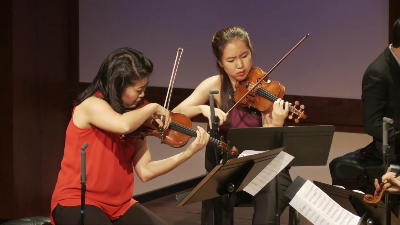 Bloch Piano Quintet No. 1, Mvt. III,  Allegro energico