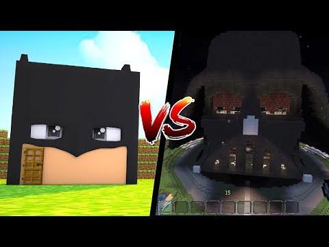 CASA DO BATMAN vs CASA STAR WARS - Casa vs Casa