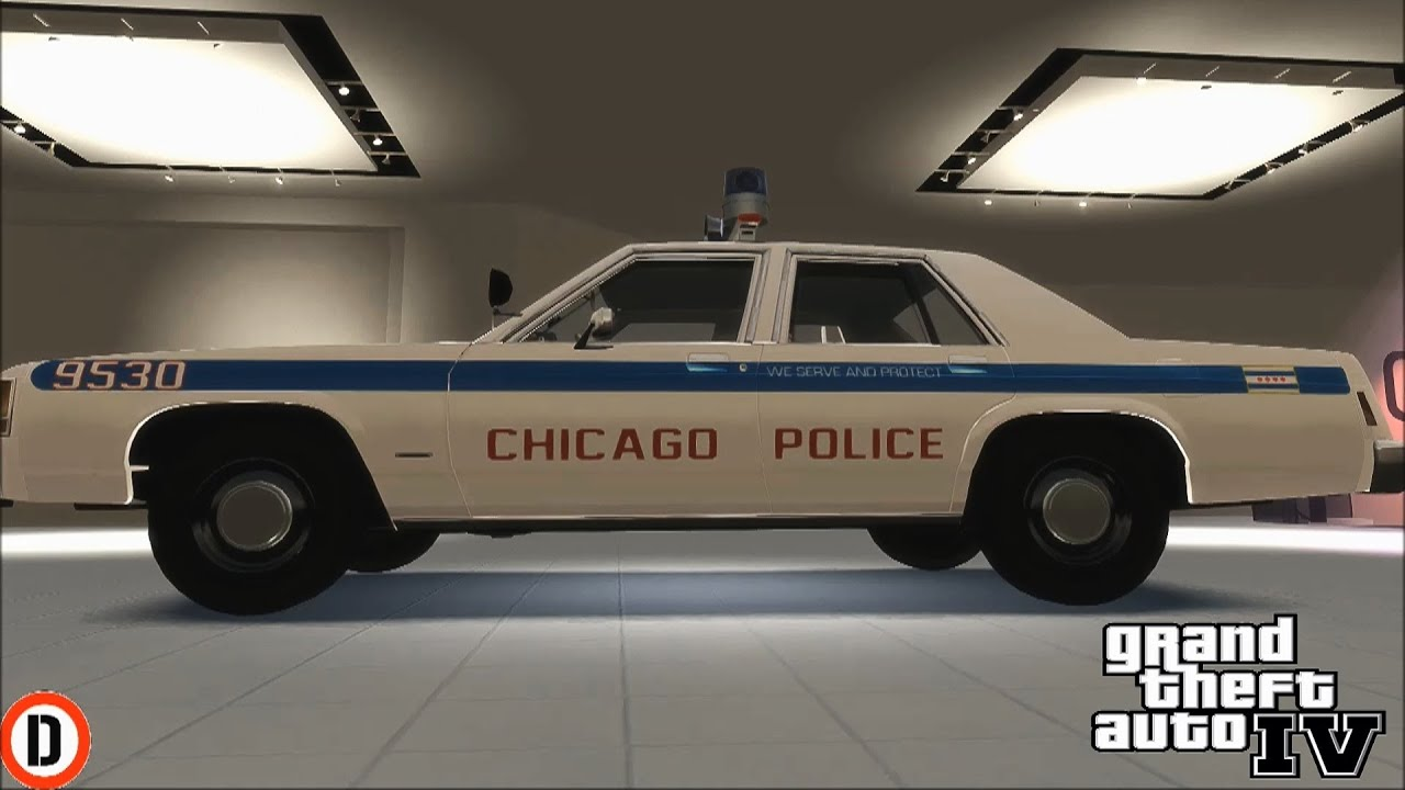 Gta Classic Muscle Police Cars Showcase Sounds Police Chase