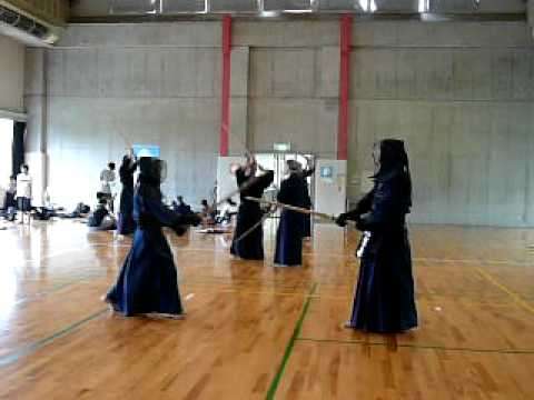 高校剣士 vs CREDGE剣士 4
