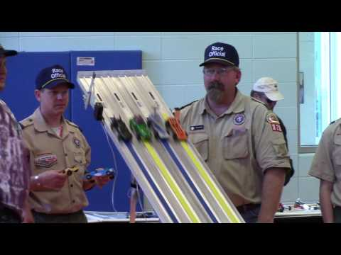 Boys Pinewood Derby 2017