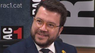 """Aragonès haría un gobierno de concentración """"mañana mismo"""""""