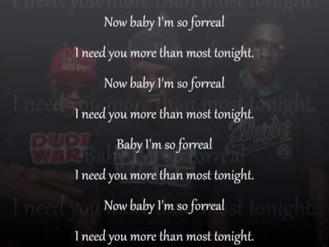 Rich Kidz Most Tonight lyrics