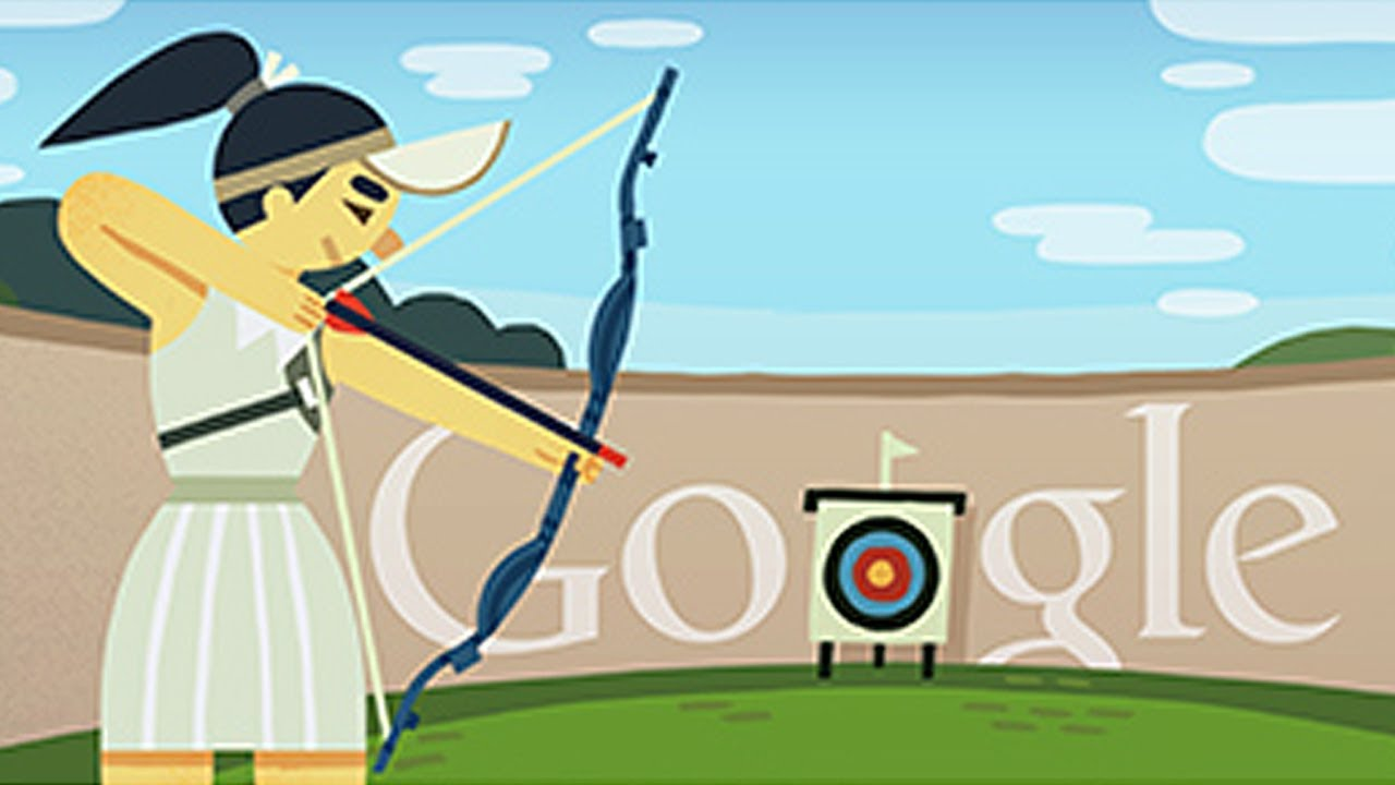 London 2012 Archery Google Doodle Youtube