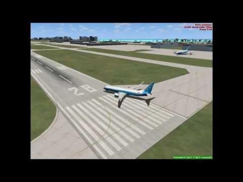 Volando por el caribe