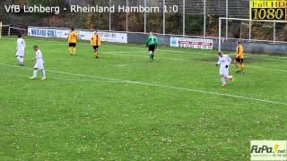 VfB Lohberg - Rheinland Hamborn 2:3 (1:0) Kreisliga A Grp.2 - Spieltag 13 - 01.12.2013