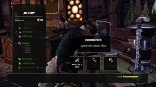 The Elder Scrolls Online: Craft Sip of Ravage Stamina