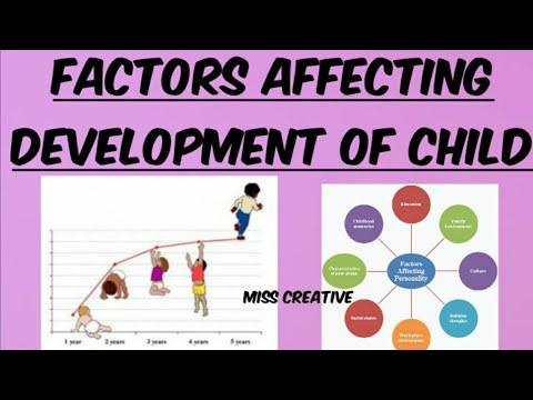 Factors Affecting Development of Child|| Factors Influencing Child Development|| Psychology|| B.Ed||