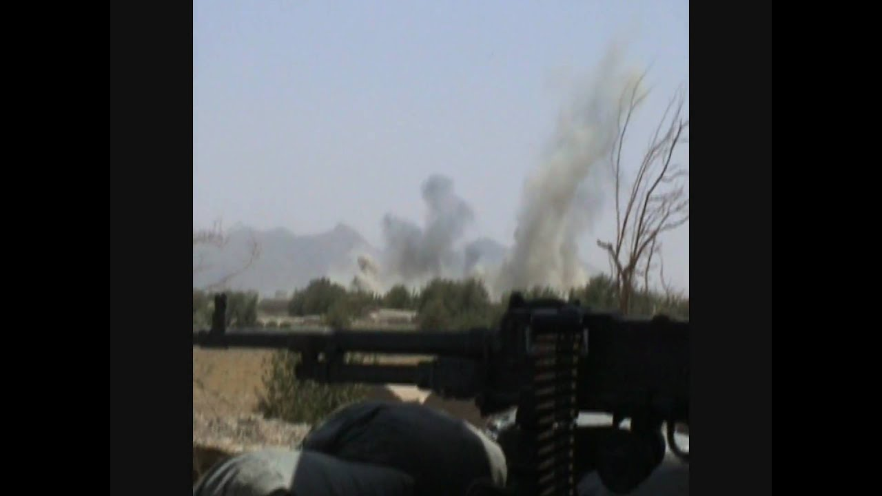 CANADIAN ARTILLERY ENGAGING TALIBAN CAUGHT ON CAMERA IN AFGHANISTAN