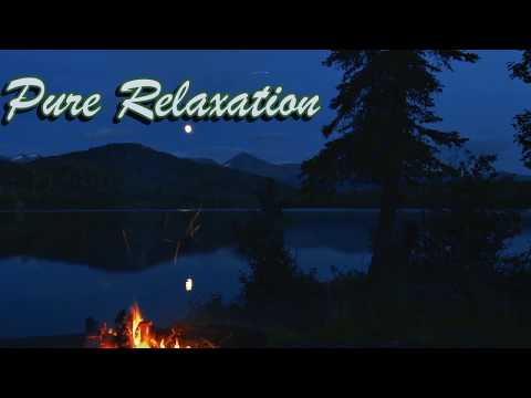 campfire-by-the-lake-ambience,-asmr,-sleep,-study-and-meditate,-10-hrs