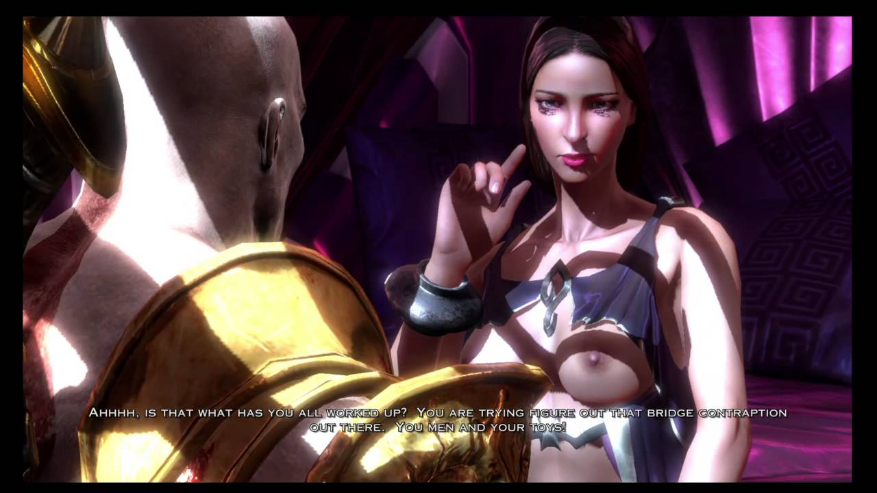 God of war iii sex scene
