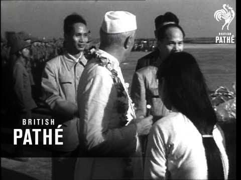 Pandit Nehru In Hanoi (1954)